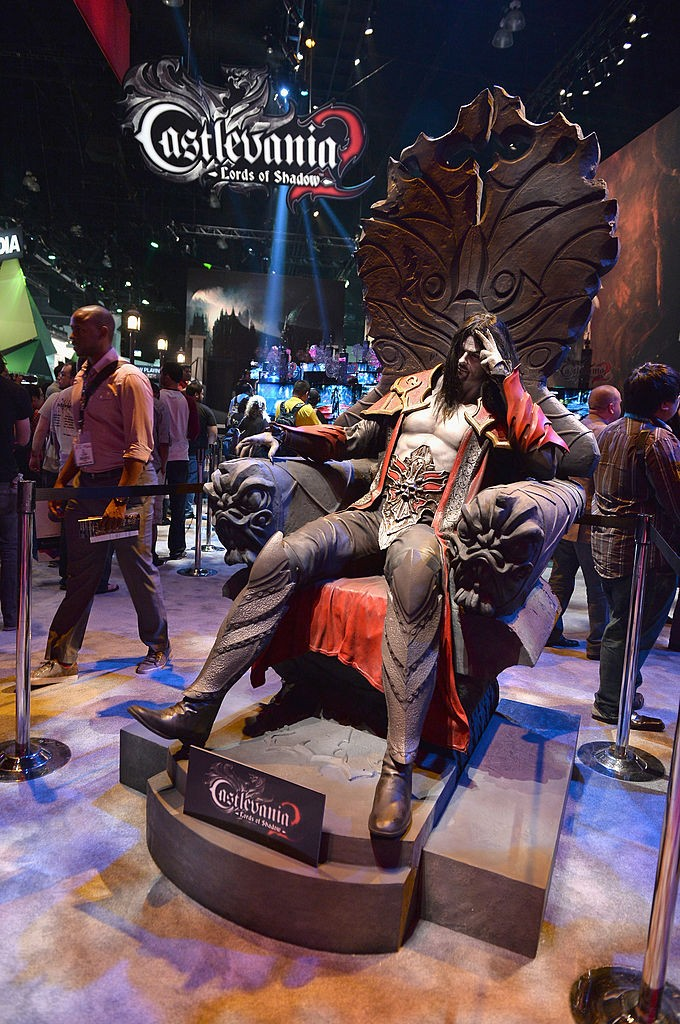 'Castlevania: Lords of Shadows 2' is displayed at the E3 Gaming and Technology Conference at the Los Angeles Convention Center on June 11, 2013.
