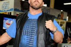 Professional wrestler Ryback appears the World Wrestling Entertainment booth at Licensing Expo 2013 at the Mandalay Bay Convention Center on June 18, 2013 in Las Vegas, Nevada.