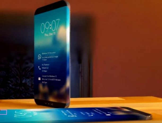 Two Smartphones Placed On Top A Table Which Depict The Speculated Look Of Upcoming