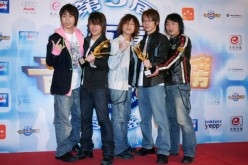 Members of rock band Mayday were some of the attendees of the 7th Radio Pop Music Awards.