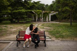 Beijing park life offers a respite from urban growth.