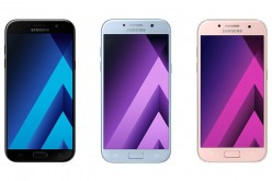 Samsung Galaxy A7 (2017), Galaxy A5 (2017), and Galaxy A3 (2017)