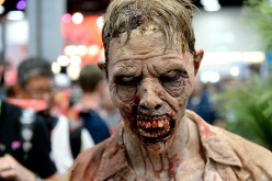 'The Walking Dead' zombies attend Comic-Con International 2016 preview night on July 20, 2016 in San Diego, California.