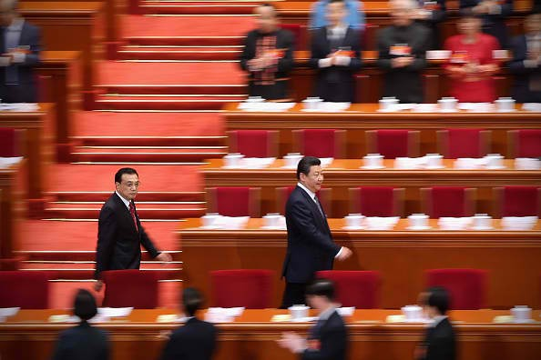 China's National People's Congress meets only once a year for its full session.