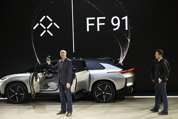 FF 91 launching in Nevada
