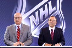 Deputy NHL Commissioner Bill Daly (left) and commissioner Gary Bettman are eyeing the untapped Chinese market for NHL games.