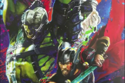 Thor and Hulk in the promo art poster for