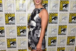 Emily Bett Rickards attends 'Arrow' Press Line during Comic-Con International 2016 at Hilton Bayfront on July 23, 2016 in San Diego, California.