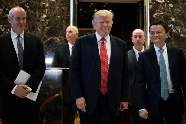 U.S. President-elect Donald Trump holds meetings at Trump Tower.