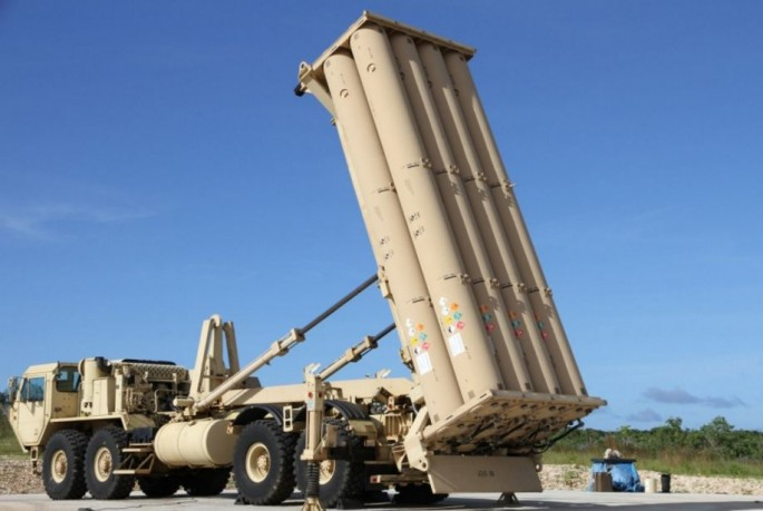 A THAAD battery.
