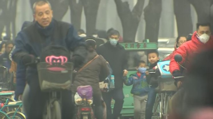 China is currently dealing with worsening levels of air pollution.