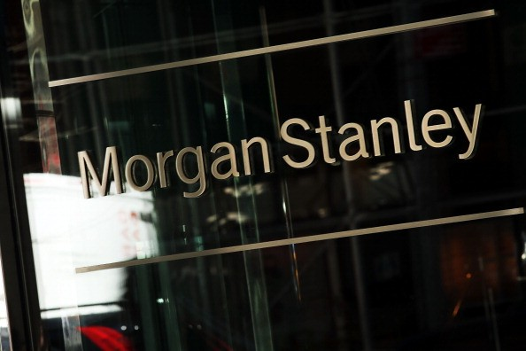 Morgan Stanley's New York headquarters are seen on April 17, 2014 in New York City.