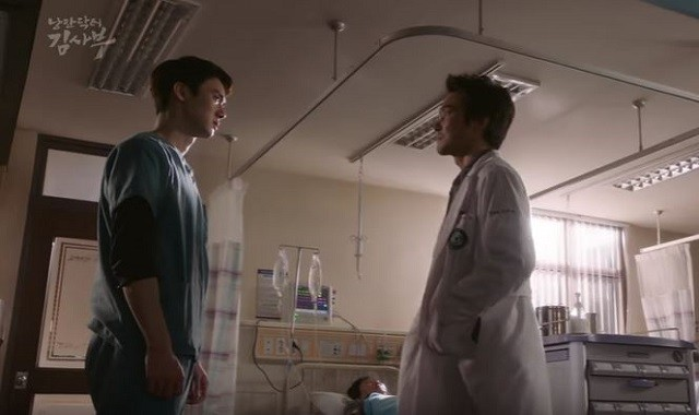 Yoo Yeon Seok and Han Suk Kyu star in the SBS medical drama 'Romantic Doctor Teacher Kim.'