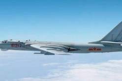 PLAAF H-6 bomber flies close to Japan.