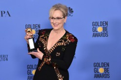 Meryl Streep poses in the press room during the 74th Annual Golden Globe Awards at The Beverly Hilton Hotel on January 8, 2017 in Beverly Hills, California.