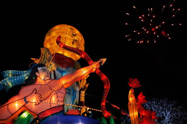 The annual Lantern Festival which usually runs a whole month has been featuring Zigong lanterns of different colors, shapes and sizes.