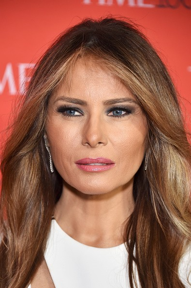 Melania Trump attends 2016 Time 100 Gala, Time's Most Influential People In The World red carpet at Jazz At Lincoln Center at the Times Warner Center on April 26, 2016 in New York City.