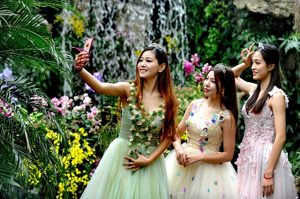 Chinese women are gradually shedding their traditional roles in favor of more modern sensibilities.
