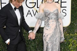 Musician Keith Urban and actress Nicole Kidman attend the 74th Annual Golden Globe Awards at The Beverly Hilton Hotel on January 8, 2017 in Beverly Hills, California.