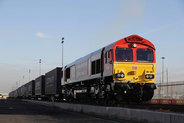 The first freight train from China arrives in the U.K., ushering the revival of the ancient Silk Road trade route.