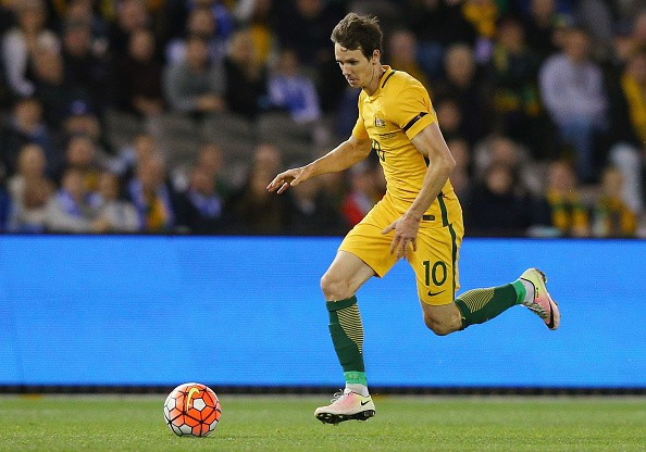 Robbie Kruse has left his German club to join the Chinese Super League.