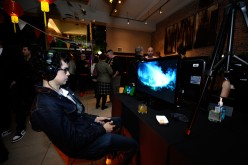 Geoffrey Arend get hands on with Sunset Overdrive and the hottest games on Xbox One on October 27, 2014 in New York City.