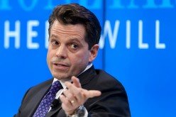 Assistant to the U.S. President Donald Trump Anthony Scaramucci attends a meeting in Davos.