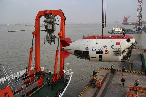 China's manned deep-sea research submersible