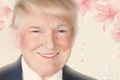 Donald Trump is among the popular personalities who have been given the Meitu treatment by users.