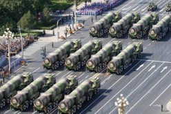 DF-41 ICBMs on parade.