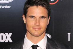 Robbie Amell attends the premiere of Fox's 'The X-Files' at California Science Center on January 12, 2016 in Los Angeles, California.