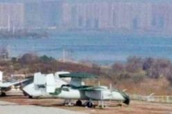 Prototype Chinese carrier-launched AEW&C.
