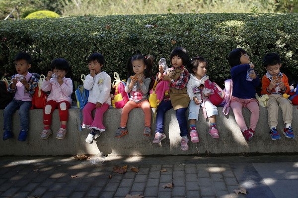 """Put children's interest first,"" a Beijing district court tells divorcees."