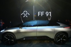 Faraday Future's Electric Vehicle