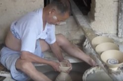 Porcelain making in Jingdezhen, Jiangxi Province, China.