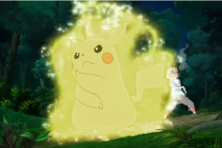 Pikachu is preparing for its next move in