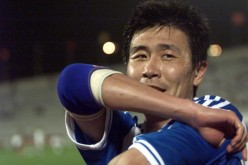 Hao Haidong (pictured), China's legendary striker, is now seeing his son slowly following in his footsteps by signing with the B-team of La Liga side Granada.