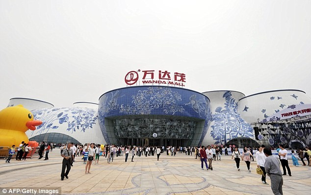 "Wanda has built shopping malls that also serve as ""tourism centers."""