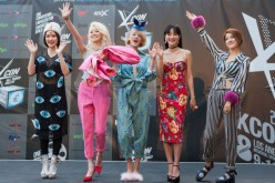 Spica attends KCON 2014 - Day 2 at the Los Angeles Memorial Sports Arena on August 10, 2014 in Los Angeles, California.