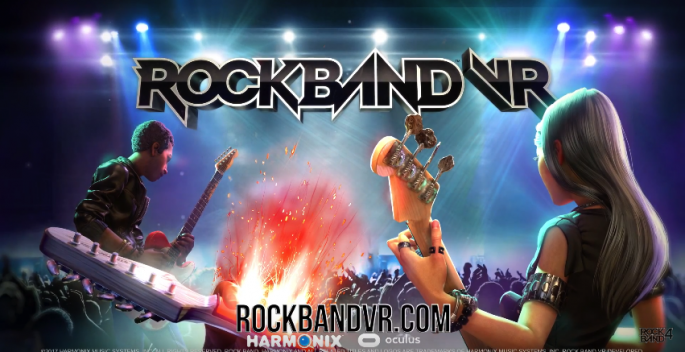 """Rock Band VR"" will be available on Oculus Rift on March 23."