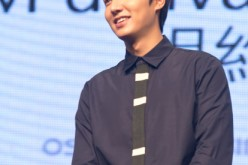 Lee Min Ho attends a press conference for a commercial event on September 11, 2014 in Taipei, Taiwan.