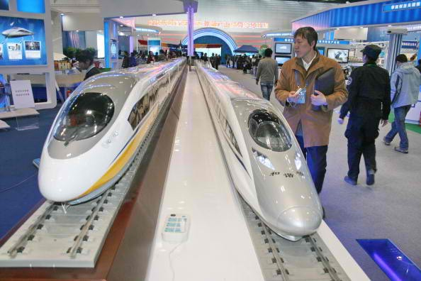 "China, through its ""Belt and Road Initiative,"" is competing with Japan for high-speed rail exports."