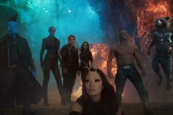 The team of 'Guardians of the Galaxy Vol. 2' stand together.