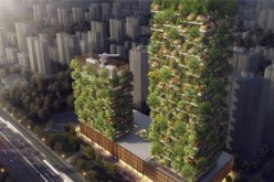 Planned Nanjing Green Towers.