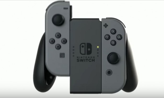 A Nintendo Switch is displayed while showcasing the versatility of the device.