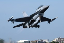 Taiwan displaying how its air force jets could land, refuel and take off on a closed-off motorway in a scenario simulating a Chinese attack that wiped out the island's air force bases.