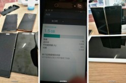 Leaked shots of the alleged Xperia XZ (2017) have surfaced, which show that the smartphone will have a bigger screen than Xperia XZ (2017.)