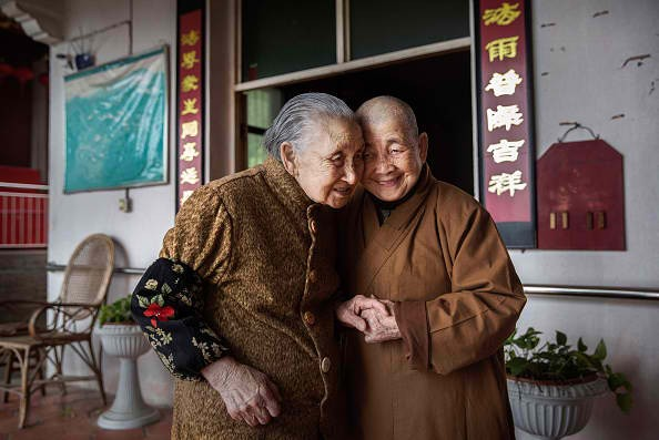 There are places in China where people live longer and happier.