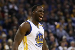 Draymond Green of the Golden State Warriors complains about a call during their game against the Dallas Mavericks at ORACLE Arena on December 30, 2016 in Oakland, California.