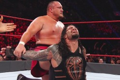 Samoa Joe and Roman Reigns